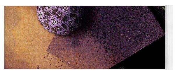 Yoga Mat featuring the digital art Paragon by Susan Maxwell Schmidt