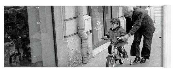 Paris Bike Lesson II Yoga Mat