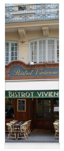 Paris Bistrot Vivienne Galerie Vivienne - Parisian Cafes Bistros Yoga Mat