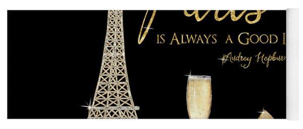 Paris Is Always A Good Idea - Audrey Hepburn Yoga Mat