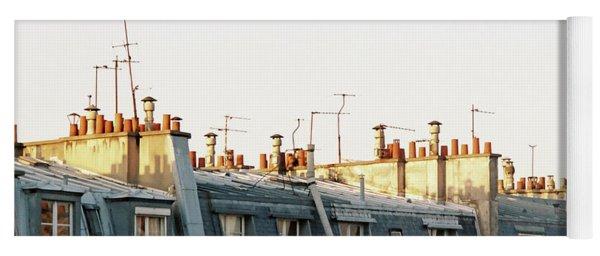 Paris Rooftops Yoga Mat