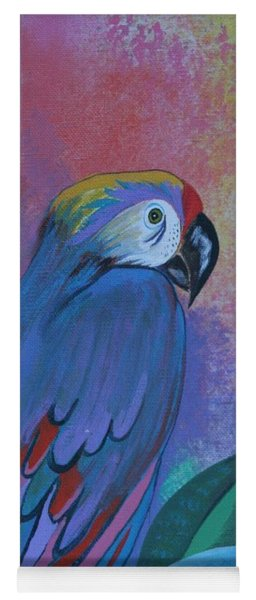 Parrot In Paradise Yoga Mat