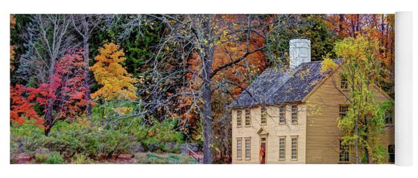 Parson Barnard House In Autumn Yoga Mat