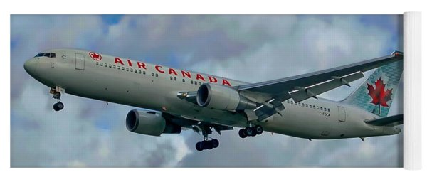 Passenger Jet Plane Yoga Mat