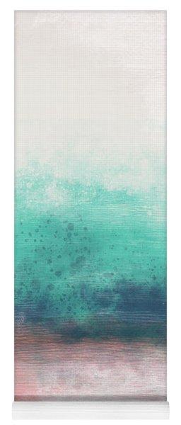 Pastel Coastal Escape-  Art By Linda Woods Yoga Mat