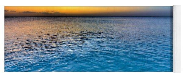 Pastel Ocean Yoga Mat