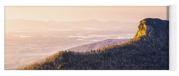 Table Rock Mountain - Linville Gorge North Carolina Yoga Mat