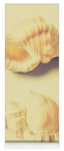 Pastel Seashell Fine Art Yoga Mat