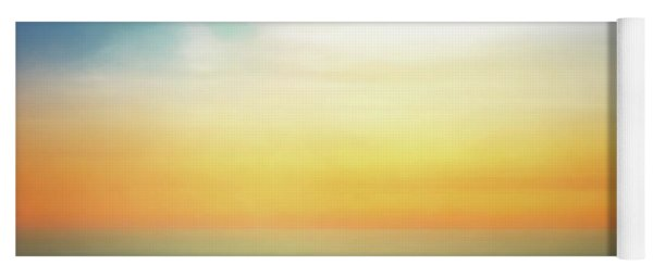 Pastel Sunrise Yoga Mat