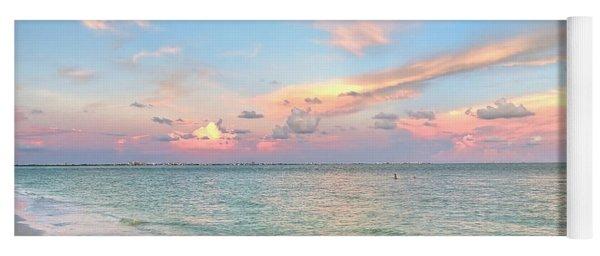 Pastel Sunset On Sanibel Island Yoga Mat