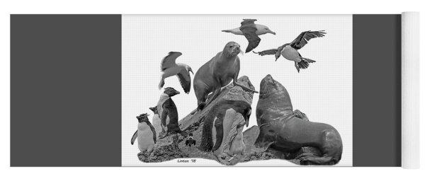Patagonian Wildlife Yoga Mat