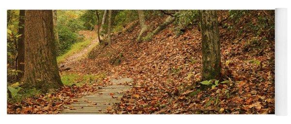 Path To Autumn Yoga Mat