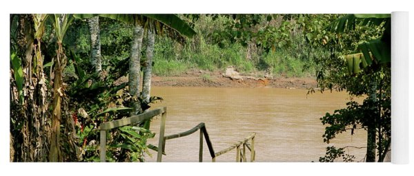 Path To The Amazon River Yoga Mat