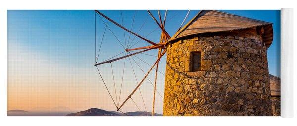 Patmos Windmills Yoga Mat