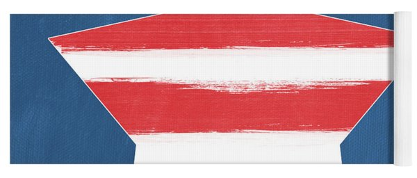 Patriotic Star Yoga Mat