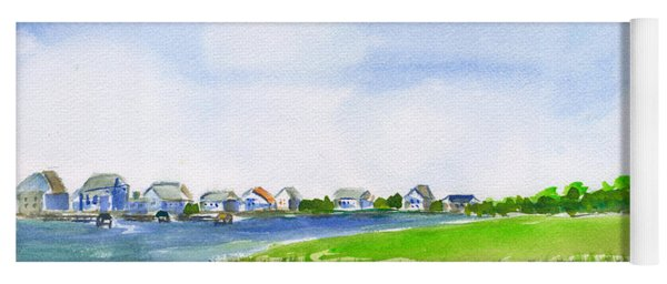 Pawleys Island South Causeway Yoga Mat