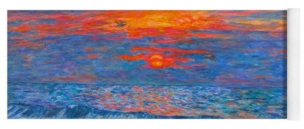 Pawleys Island Sunrise In The Sand Yoga Mat