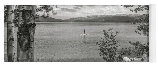 Payette Lake Boarder Yoga Mat