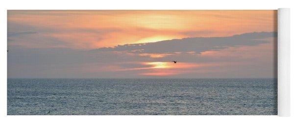 Pea Island Sunrise Yoga Mat
