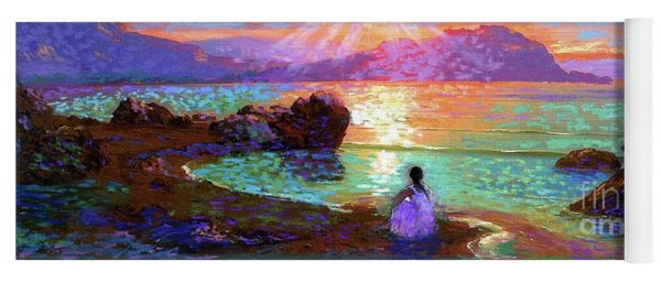 Peace Be Still Meditation Yoga Mat