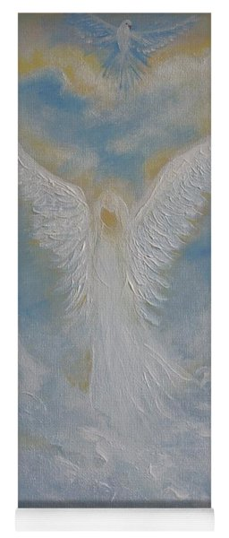 Peace From An Angel  Yoga Mat