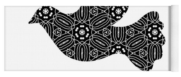 Peace Goals- Art By Linda Woods Yoga Mat