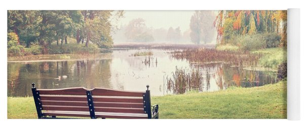 Peace Of Autumn Yoga Mat