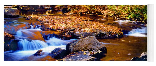 Peaceful Autumn Afternoon  Yoga Mat