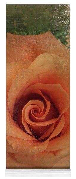 Peach Rose Yoga Mat