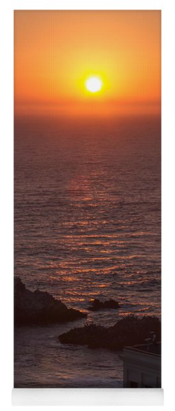 Peachy San Francisco Sunset Yoga Mat