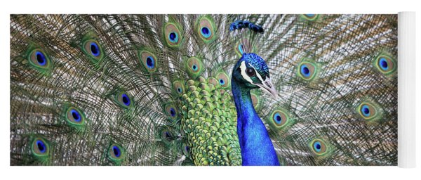 Peacock Yoga Mat