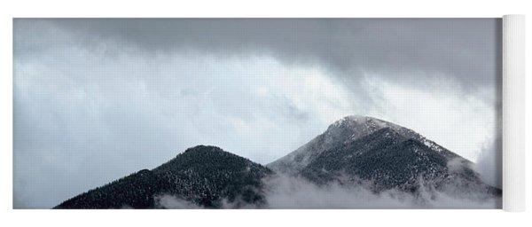 Peaking Through The Clouds Yoga Mat