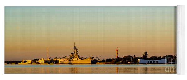 Pearl Harbor Dawn Yoga Mat