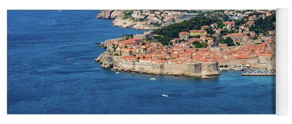 Pearl Of The Adriatic, Dubrovnik, Known As Kings Landing In Game Of Thrones, Dubrovnik, Croatia Yoga Mat