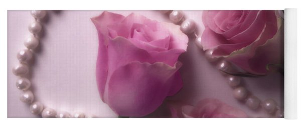 Pearls And Roses 2 Yoga Mat