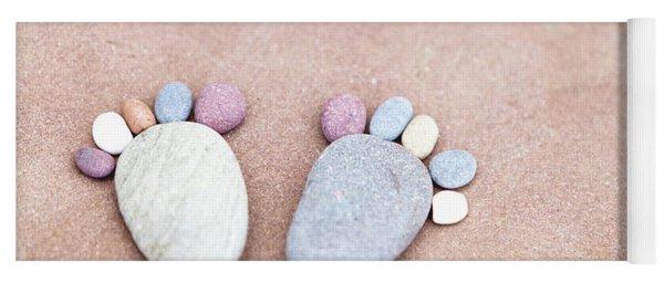 Pebble Feet Yoga Mat