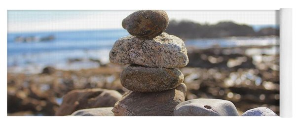 Peceful Zen Rocks Yoga Mat