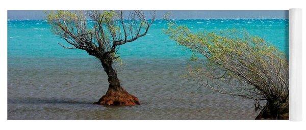 Peculiar Trees Yoga Mat