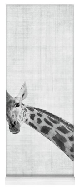 Peekaboo Giraffe Yoga Mat