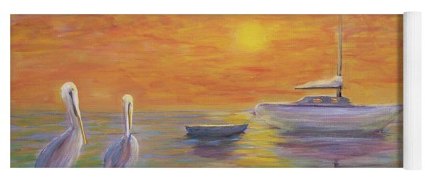 Pelican Bay Sunset Yoga Mat