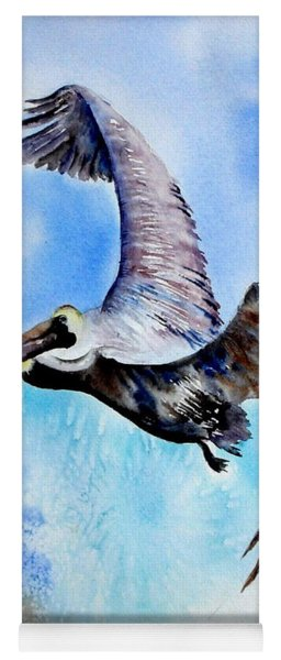 Pelican In Flight Yoga Mat