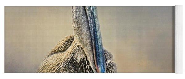 Pelican In Paradise Squared Yoga Mat