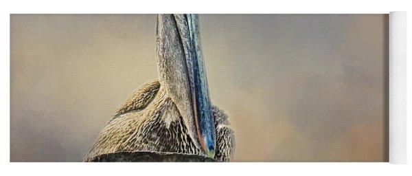 Pelican In Paradise Yoga Mat