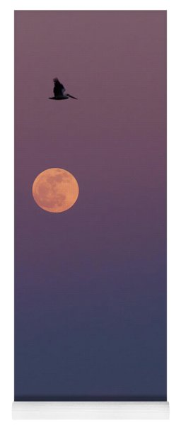 Pelican Over The Moon Yoga Mat