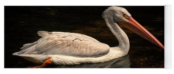 Pelican Swimming In Salisbury Yoga Mat