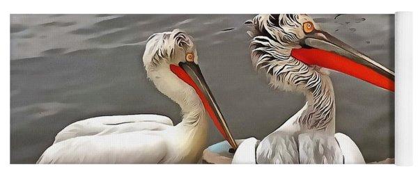 Pelicans - The Grey Twins Yoga Mat