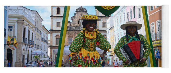 Pelourinho - Historic Center Of Salvador Bahia Yoga Mat