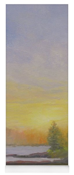 Pemaquid Beach Sunset Yoga Mat