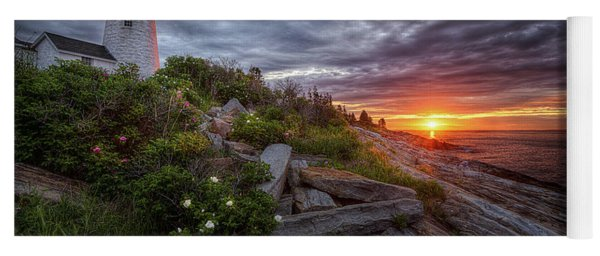 Pemaquid Sunrise Yoga Mat