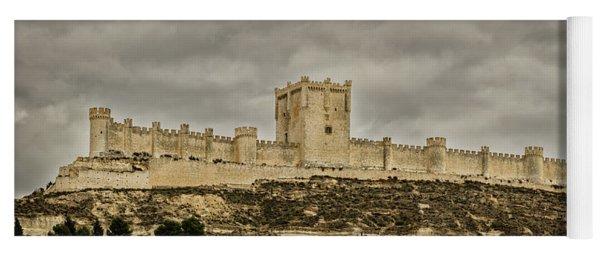 Penafiel Castle, Spain. Yoga Mat